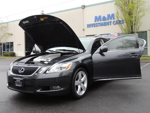 2007 Lexus GS 350 / Luxury Sport Sedan / Navigation / Back Up Ca - Photo 25 - Portland, OR 97217