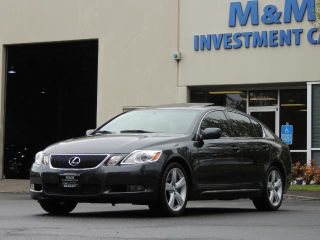 2007 Lexus GS 350 / Luxury Sport Sedan / Navigation / Back Up Ca - Photo 1 - Portland, OR 97217