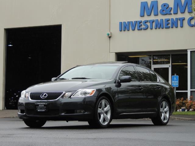 2007 Lexus GS 350 / Luxury Sport Sedan / Navigation / Back Up Ca - Photo 37 - Portland, OR 97217
