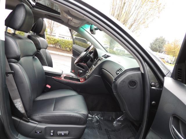 2007 Lexus GS 350 / Luxury Sport Sedan / Navigation / Back Up Ca - Photo 16 - Portland, OR 97217