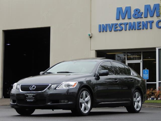 2007 Lexus GS 350 / Luxury Sport Sedan / Navigation / Back Up Ca - Photo 48 - Portland, OR 97217