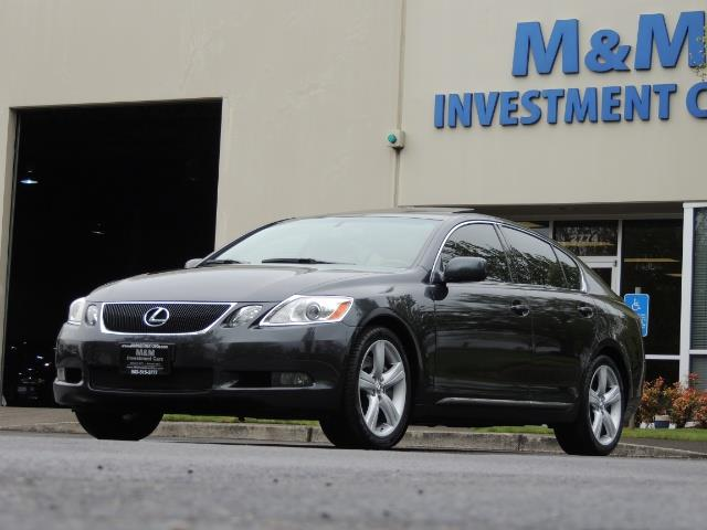 2007 Lexus GS 350 / Luxury Sport Sedan / Navigation / Back Up Ca - Photo 51 - Portland, OR 97217