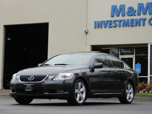 2007 Lexus GS 350 / Luxury Sport Sedan / Navigation / Back Up Ca - Photo 49 - Portland, OR 97217