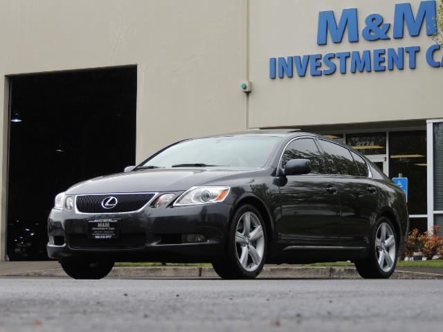 2007 Lexus GS 350 / Luxury Sport Sedan / Navigation / Back Up Ca - Photo 50 - Portland, OR 97217