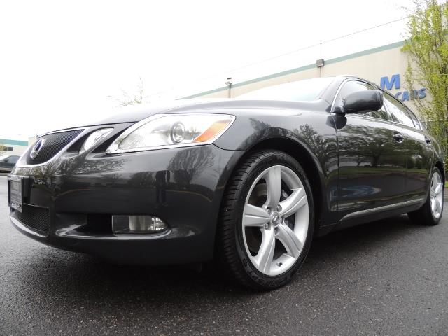 2007 Lexus GS 350 / Luxury Sport Sedan / Navigation / Back Up Ca - Photo 9 - Portland, OR 97217
