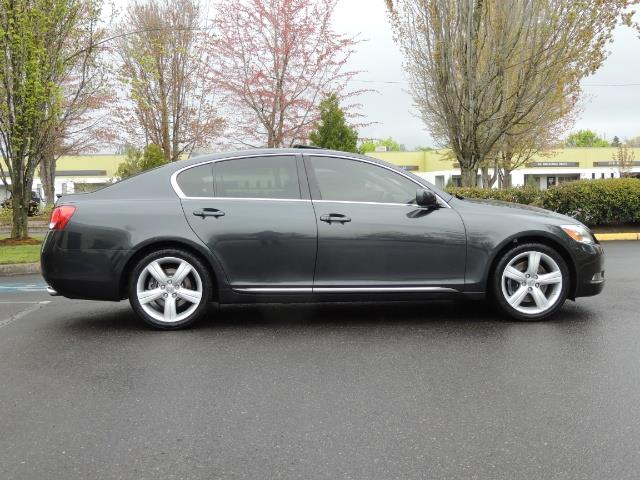2007 Lexus GS 350 / Luxury Sport Sedan / Navigation / Back Up Ca - Photo 4 - Portland, OR 97217