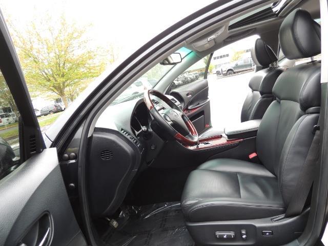2007 Lexus GS 350 / Luxury Sport Sedan / Navigation / Back Up Ca - Photo 12 - Portland, OR 97217
