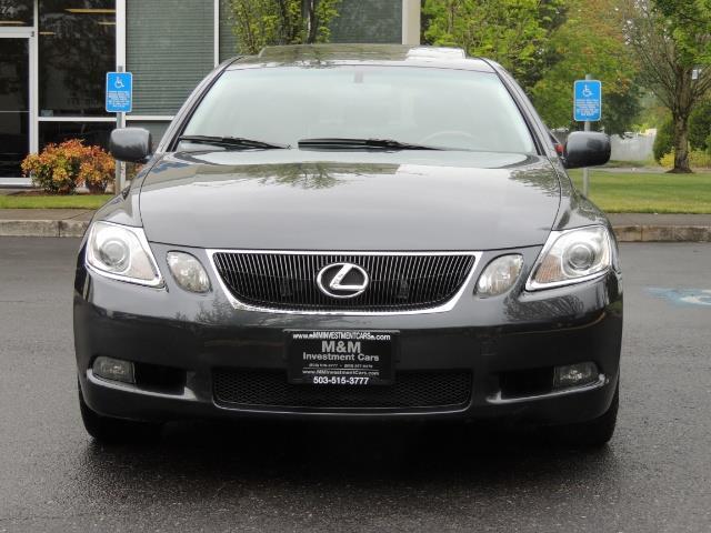 2007 Lexus GS 350 / Luxury Sport Sedan / Navigation / Back Up Ca - Photo 5 - Portland, OR 97217