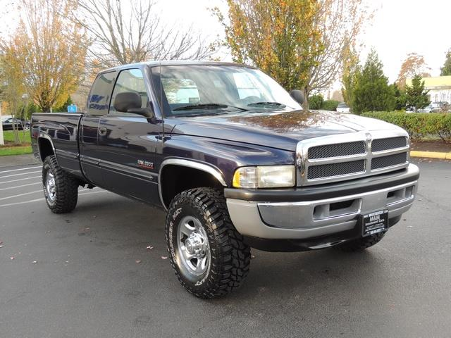 1999 dodge ram 2500 slt quad cab 5 9l 4x4 diesel manual transmission. Black Bedroom Furniture Sets. Home Design Ideas
