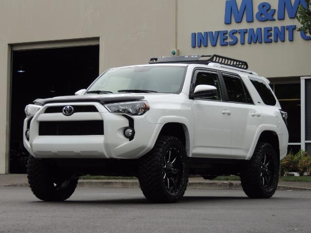 2016 toyota 4runner sr5 sport suv v6 4x4 3rd seat rear cam. Black Bedroom Furniture Sets. Home Design Ideas