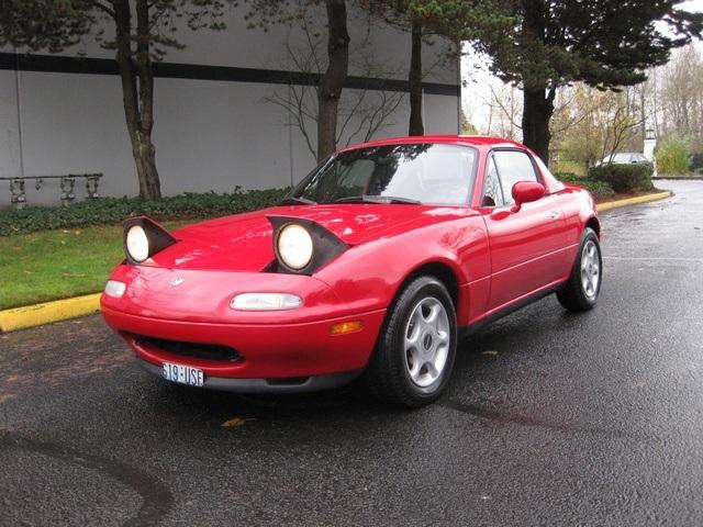 1996 mazda mx-5 miata 5-speed/ hard top & soft top