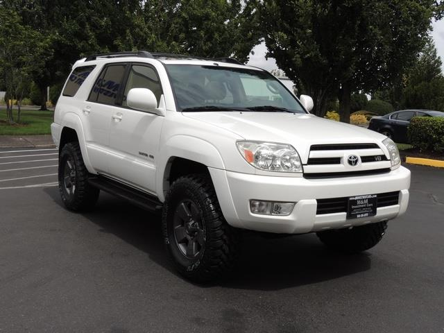 2005 toyota 4runner limited 4x4 leather sunroof lifted. Black Bedroom Furniture Sets. Home Design Ideas