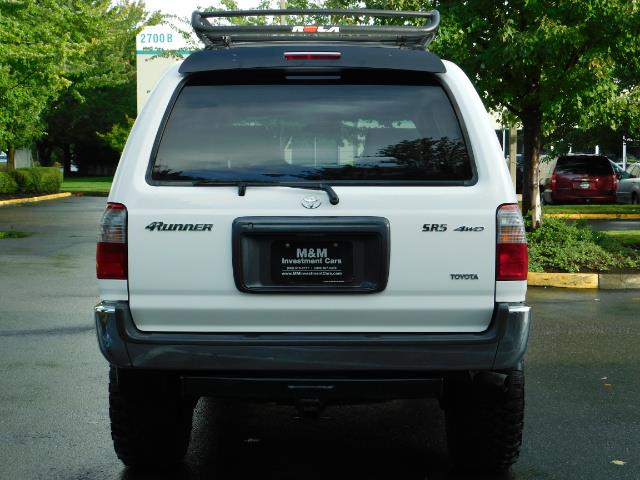2000 Toyota 4Runner 4X4 / 3.4L V6 / LIFTED / 1-OWNER / 109,000 MILES ! - Photo 6 - Portland, OR 97217