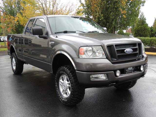 2004 ford f 150 xl 4dr supercab lifted low miles 4x4 mud tire. Black Bedroom Furniture Sets. Home Design Ideas