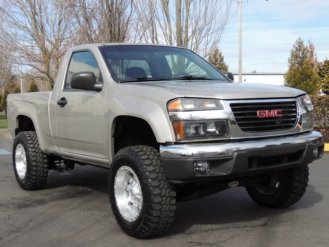 2004 Gmc Canyon Z71 Sle 4x4 Lifted Tacoma Sr5 Toyota