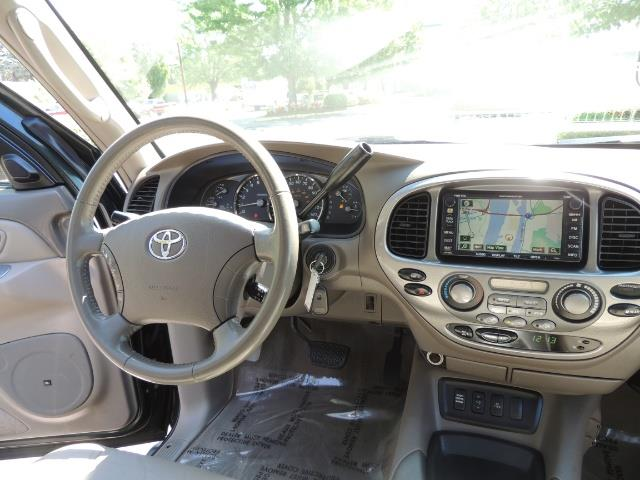 2006 Toyota Sequoia LIMITED 4X4 / 8 SEATS NAVi DVD / FRESH TIMING BELT - Photo 33 - Portland, OR 97217