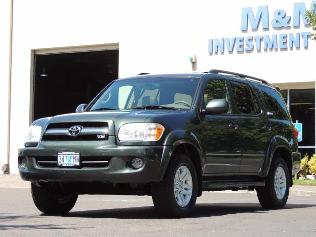 2006 Toyota Sequoia LIMITED 4X4 / 8 SEATS NAVi DVD / FRESH TIMING BELT - Photo 51 - Portland, OR 97217