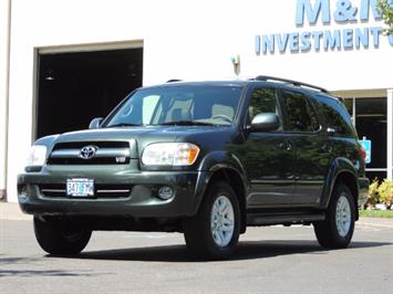2006 Toyota Sequoia LIMITED 4X4 / 8 SEATS NAVi DVD / FRESH TIMING BELT SUV