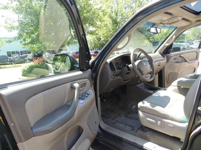2006 Toyota Sequoia LIMITED 4X4 / 8 SEATS NAVi DVD / FRESH TIMING BELT - Photo 13 - Portland, OR 97217