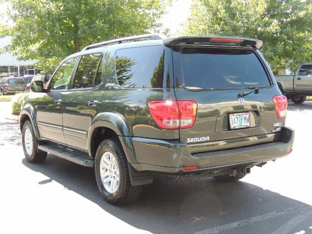 2006 Toyota Sequoia LIMITED 4X4 / 8 SEATS NAVi DVD / FRESH TIMING BELT - Photo 7 - Portland, OR 97217