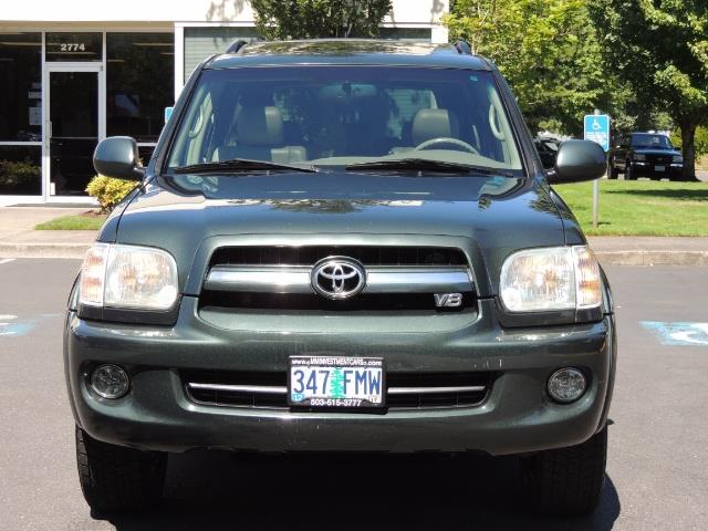 2006 Toyota Sequoia LIMITED 4X4 / 8 SEATS NAVi DVD / FRESH TIMING BELT - Photo 5 - Portland, OR 97217
