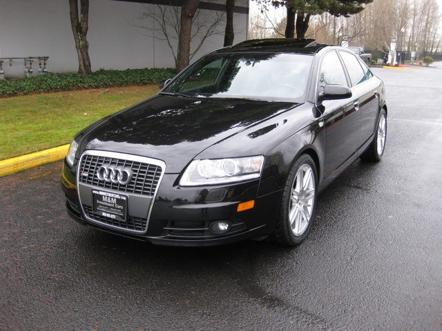 2008 audi a6 3 2 quattro s line navigation. Black Bedroom Furniture Sets. Home Design Ideas