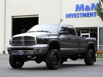 2007 Dodge Ram 3500 Laramie / 4X4 / 6-SPEED / CUMMINS DIESEL / LIFTED Truck