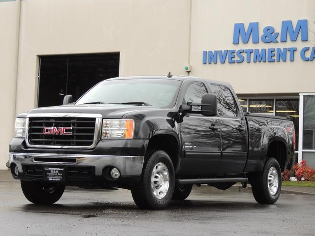 2009 GMC Sierra 2500 SLE Z71 4X4 6.6 DURAMAX DIESEL ALLISON LEATHER - Photo 37 - Portland, OR 97217