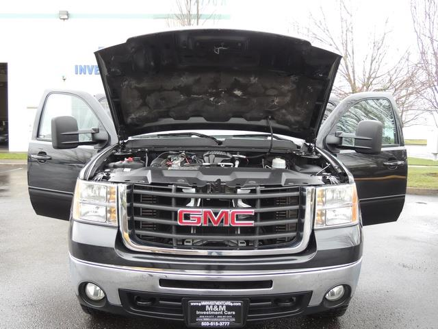 2009 GMC Sierra 2500 SLE Z71 4X4 6.6 DURAMAX DIESEL ALLISON LEATHER - Photo 30 - Portland, OR 97217