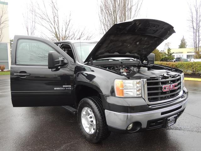 2009 GMC Sierra 2500 SLE Z71 4X4 6.6 DURAMAX DIESEL ALLISON LEATHER - Photo 29 - Portland, OR 97217