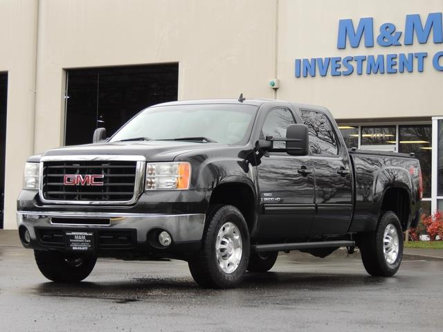 2009 GMC Sierra 2500 SLE Z71 4X4 6.6 DURAMAX DIESEL ALLISON LEATHER - Photo 1 - Portland, OR 97217