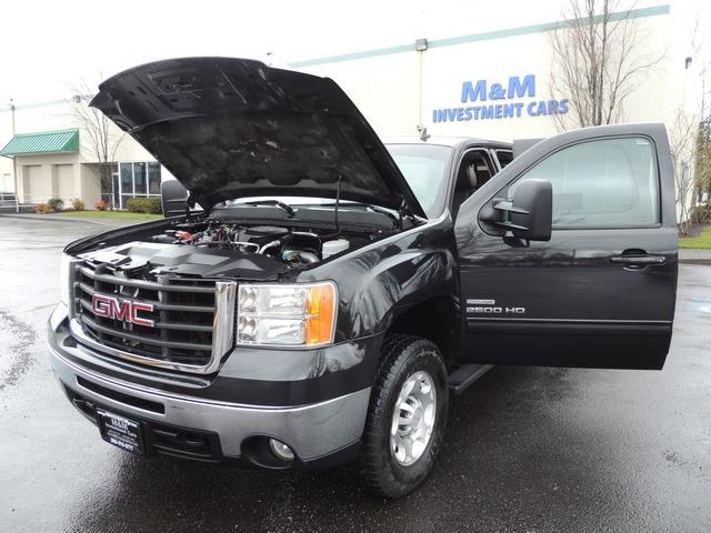 2009 GMC Sierra 2500 SLE Z71 4X4 6.6 DURAMAX DIESEL ALLISON LEATHER - Photo 25 - Portland, OR 97217