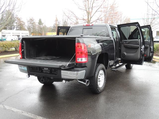 2009 GMC Sierra 2500 SLE Z71 4X4 6.6 DURAMAX DIESEL ALLISON LEATHER - Photo 28 - Portland, OR 97217