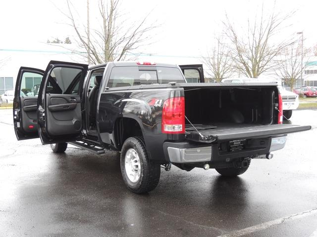 2009 GMC Sierra 2500 SLE Z71 4X4 6.6 DURAMAX DIESEL ALLISON LEATHER - Photo 26 - Portland, OR 97217