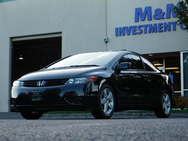 2006 Honda Civic EX / 2Dr Coupe / Sunroof / 5-Speed / Excel Cond - Photo 42 - Portland, OR 97217