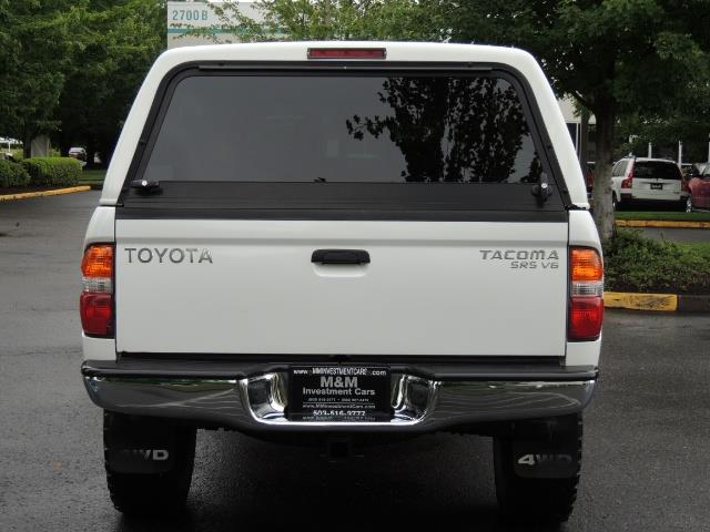2004 Toyota Tacoma V6 2dr Xtracab / 4X4 / 5-SPEED / TRD SUPERCHARGED - Photo 6 - Portland, OR 97217