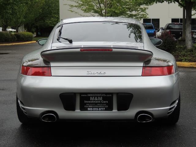 2002 Porsche 911 Turbo / AWD / 6-SPEED / Leather / Heaetd Seats - Photo 6 - Portland, OR 97217