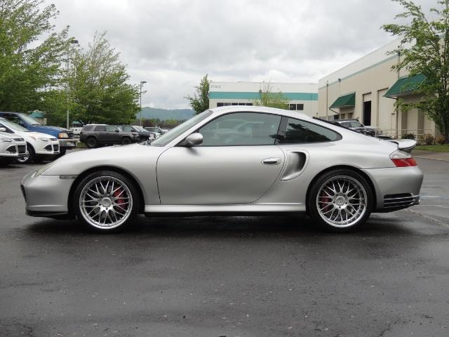 2002 Porsche 911 Turbo / AWD / 6-SPEED / Leather / Heaetd Seats - Photo 3 - Portland, OR 97217