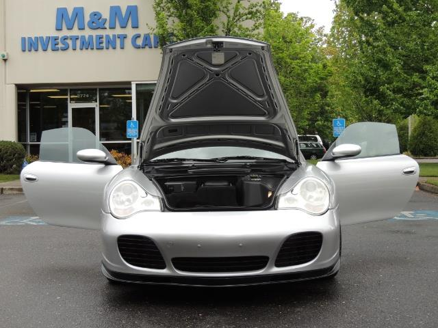 2002 Porsche 911 Turbo / AWD / 6-SPEED / Leather / Heaetd Seats - Photo 33 - Portland, OR 97217
