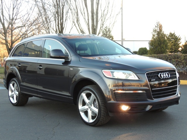 2007 audi q7 3 6 premium quattro s line pkg nav paddle. Black Bedroom Furniture Sets. Home Design Ideas