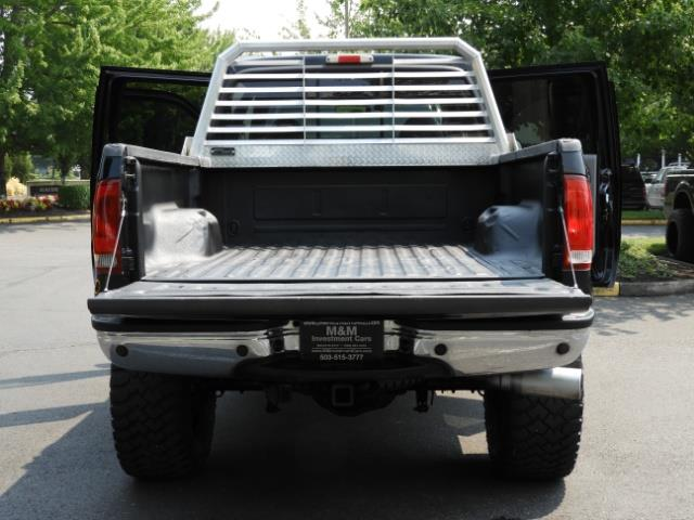 2001 Ford F-250 LARIAT 4X4 CREW CAB / 7.3 DIESEL / 127Km / LIFTED - Photo 26 - Portland, OR 97217