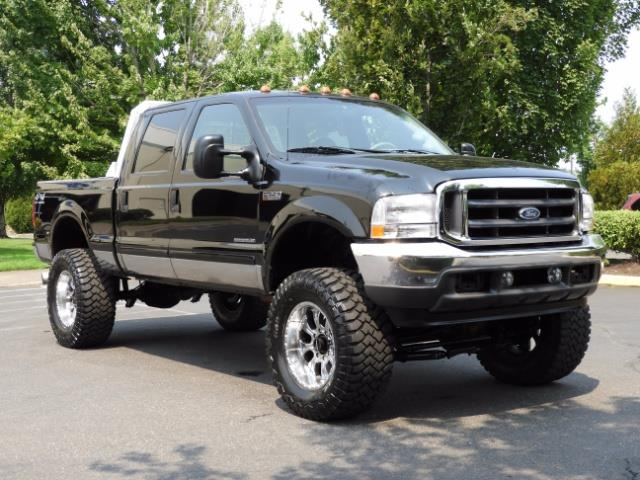 2001 Ford F-250 LARIAT 4X4 CREW CAB / 7.3 DIESEL / 127Km / LIFTED - Photo 2 - Portland, OR 97217