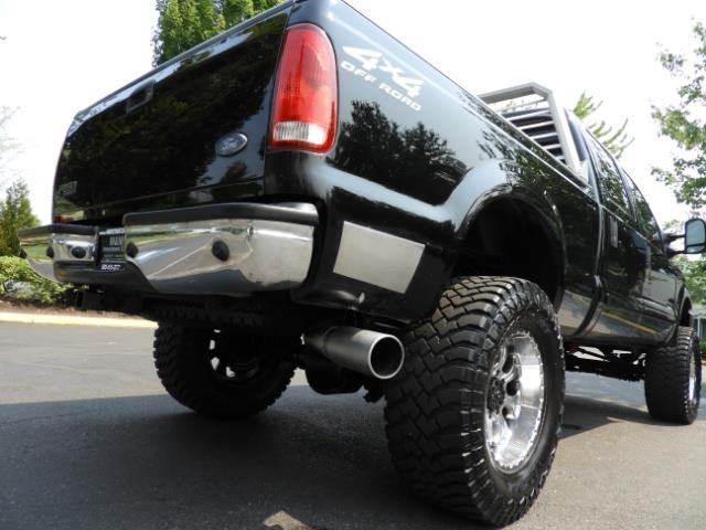 2001 Ford F-250 LARIAT 4X4 CREW CAB / 7.3 DIESEL / 127Km / LIFTED - Photo 13 - Portland, OR 97217