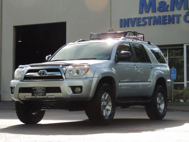 2007 Toyota 4Runner V6 4X4 / 3RD SEAT / DIFF LOCK / 1-OWNER / LIFTED - Photo 41 - Portland, OR 97217