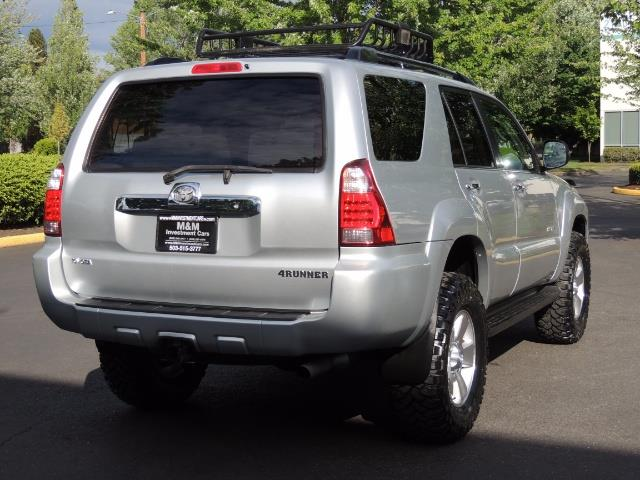 2007 Toyota 4Runner V6 4X4 / 3RD SEAT / DIFF LOCK / 1-OWNER / LIFTED - Photo 8 - Portland, OR 97217