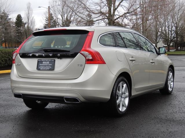 2017 Volvo V60 T5 Premier/ Leather / Heated Seats / Navigation - Photo 8 - Portland, OR 97217
