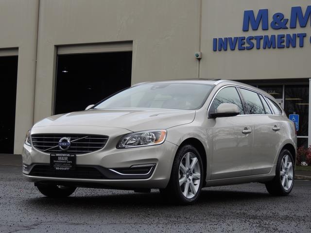 2017 Volvo V60 T5 Premier/ Leather / Heated Seats / Navigation - Photo 1 - Portland, OR 97217