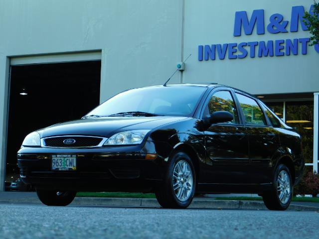 2007 Ford Focus ZX4 SE / 4Dr / Sunroof / New Tires - Photo 42 - Portland, OR 97217