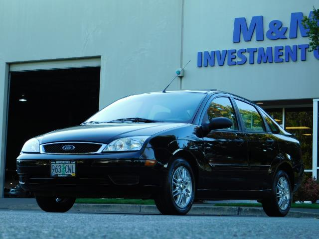 2007 Ford Focus ZX4 SE / 4Dr / Sunroof / New Tires - Photo 43 - Portland, OR 97217