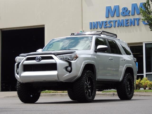 2016 Toyota 4Runner SR5 SPORT SUV 4WD V6 / 3RD SEATS REAR CAM / LIFTED - Photo 45 - Portland, OR 97217